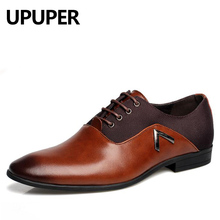 Spring Fashion Men Pointed Toe Dress Shoes High Quality Business Men Oxford Shoes For Male Zapatos