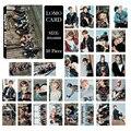 KPOP BTS Bangtan Meninos Youpop YOU NEVER WALK ALONE Álbum LOMO cartas de Moda de Nova Auto moldura Feita de Papel Cartão HD LK449 Photocard