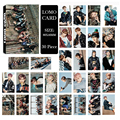 Youpop KPOP BTS Bangtan Boys YOU NEVER WALK ALONE Album LOMO Cards New Fashion Self Made Paper Photo Card HD Photocard LK449