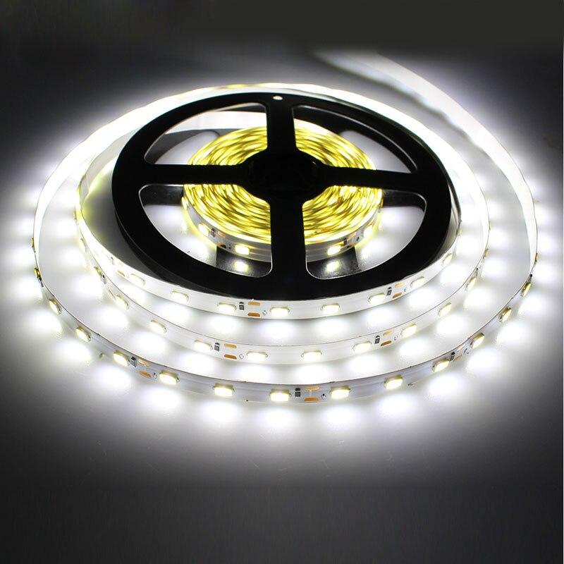 1 м 5 м 10 м светодиодный светильник 2835 IP65 Водонепроницаемый 60 светодиодный/м DC12V гибкий светодиодный светильник RGB теплый холодный белый Светодиодный ruban luces светодиодный tiras|luces led tiras|flexible led light stripled strip 2835 | АлиЭкспресс