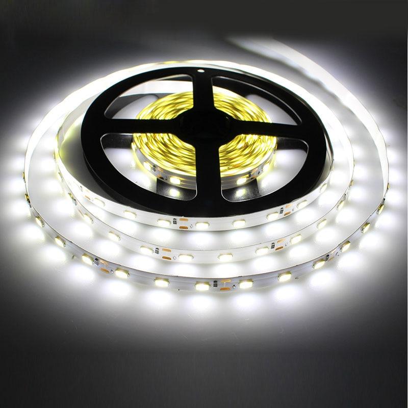 1 м 5 м 10 м светодиодный светильник 2835 IP65 Водонепроницаемый 60 светодиодный/м DC12V гибкий светодиодный светильник RGB теплый холодный белый Свет...