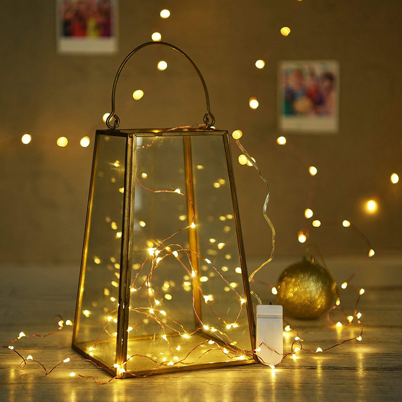 Fairy lights LED String Light 1/2/3/5/10M 10-100 LEDs Christmas Garland Silver Wire For Indoor New Year Xmas Wedding Decoration agm 10m copper wire led string light garland 100led battery fairy light for christmas new year home decoration festival decor