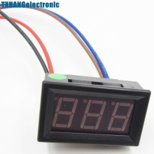DC 0 To 10A NEW Green LED Panel Meter Mini Digital Ammeter