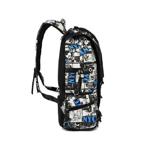 Camouflage Charging Backpack