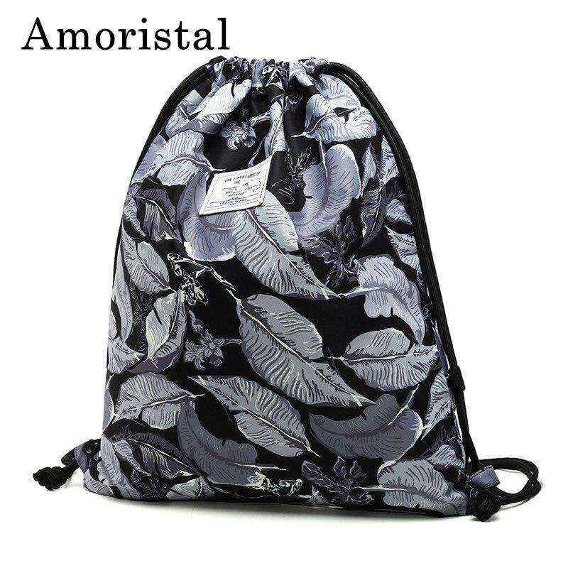 Women Drawstring Bag Best Selling High Quality Polyester Fashion Women Sport Casual Storage Bags Travel Beach