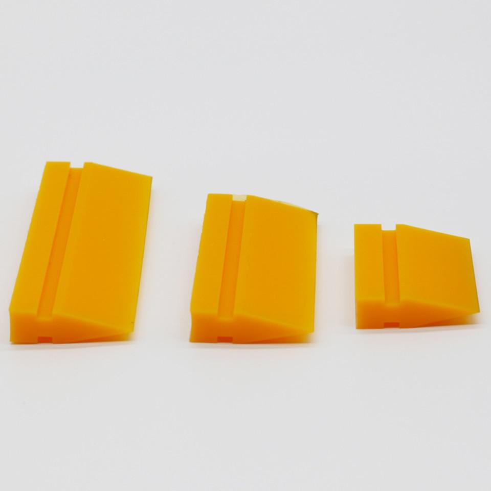 ТПУ PPF применение резиновый скребок желтый смузи турбо скребок стеклоочистителя для прозрачные ремешки для бюстгальтера Защитная Пленка Установка MO 707 3 размера-in Наклейки на автомобиль from Автомобили и мотоциклы
