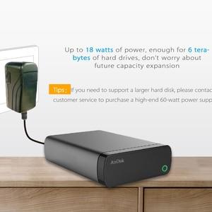 Image 5 - Disco Duro de red móvil Airdisk S3 USB3.0 familia de almacenamiento en la nube de red inteligente remotamente caja de disco duro móvil (no HDD)