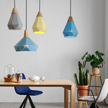 Und vertraglich marca Nordic drachen farbe solide holz drop persönlichkeit restaurants cafés wohnzimmer beleuchtung - 3