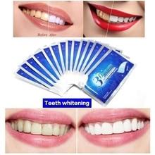 28Pcs/14Pair false Teeth Veneers Dental kit Teeth Whitening Strips Dentist 3D White Gel Tooth Oral Hygiene Care Strip sets standard tooth model 28pcs teeth soft gum screw fixed dp articulator children dentist student learning mode