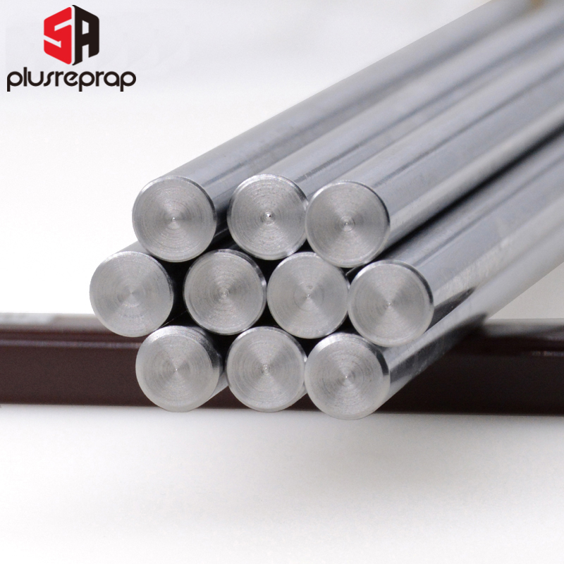 Liner Rail OD 8mm Linear Shaft Lenght 200 250 300 320 350 370 400 500 Mm For 3D Printer X Y Z Axis CNC Parts