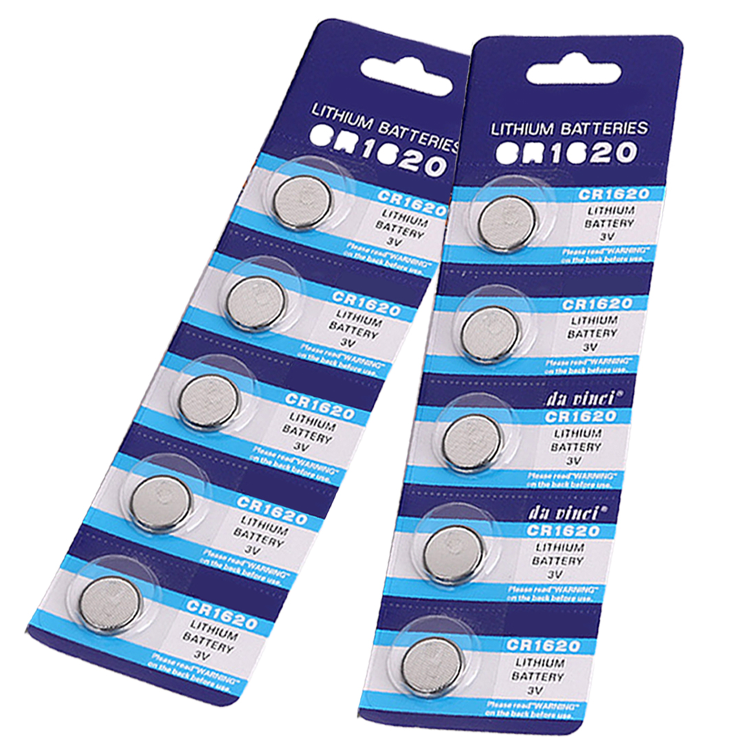 5pcs Lot CR1620 1620 ECR1620 DL1620 280 208 3V Cell Battery Button Battery Coin Battery lithium battery For Watches clocks in Button Cell Batteries from Consumer Electronics