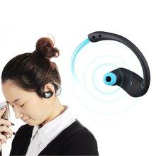 DACOM спортсмен Bluetooth гарнитура беспроводная спорта headsfree наушники музыке стерео наушники Fone де ouvido с микрофоном и NFC