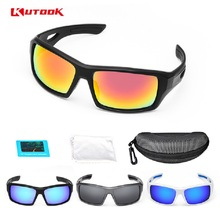 KUTOOK Polarized Cycling Glasses Sports Eyewear Safety Sunglasses Men Women Bicycle Riding Fishing Driving MTB Bike Goggles