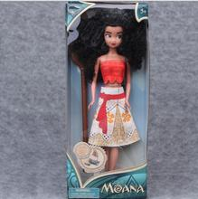 Kids Personalized Christmas Gifts Moana Adventure Mo Ahna Moana Princess Doll Gift Anime Toy Figures Toys for Children D27