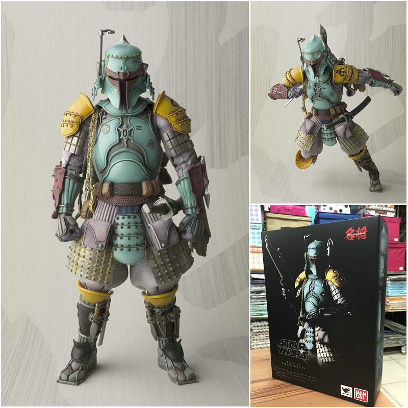 Figurine Star Wars modèle Boba Fett jouet 17 CM réalisation film Robin Boba Fett jouet Star War Sic samouraï Taisho poupée