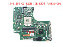 Original 748839-001 Laptop motherboard For HP 15-D 250 G2 mainboard 100% Tested