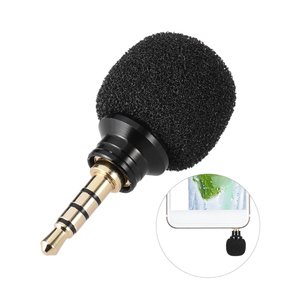 Image 3 - Andoer Cellphone Smartphone Portable Mini Omni Directional Mic Microphone for Recorder for iPad Apple iPhone5 6s 6 Plus