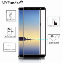 fe2c6c5429447c NYFundas Screen Protector 8 3D Curved Full Cover Tempered Glass For Samsung  Galaxy