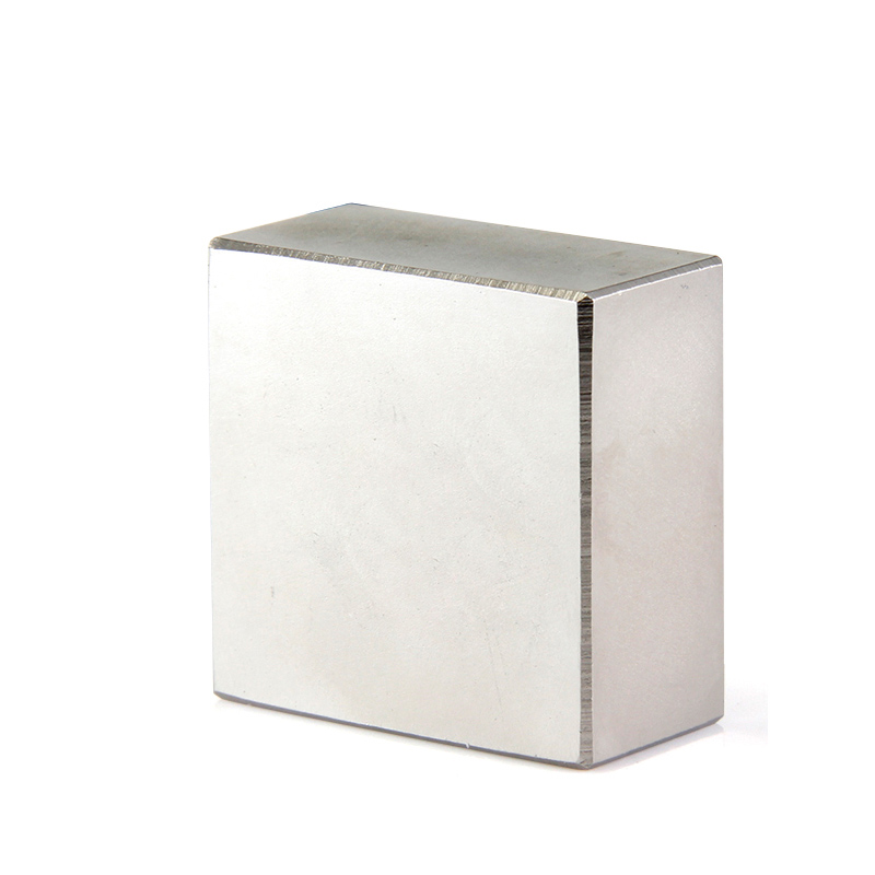 1 piezas bloque 40x40x20mm N45 N52 tierra rara NdFeB imán de neodimio de bloque n52 imanes 40*40*20mm