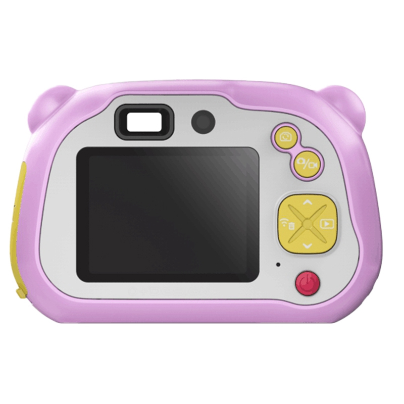 Wifi Kids Camera, 2-Inch HD Digital Dual Camera, Auto Focus & With Flash Lights, Boy Girl HD Video Camera Creative Gifts