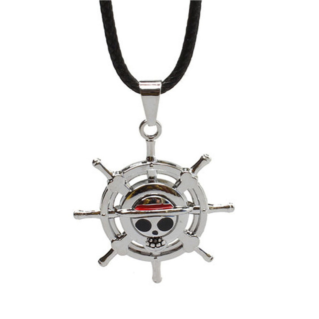 One Piece Jolly Roger Collar (2 Colores)