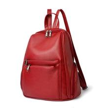 Женские рюкзаки молния мульти-карман твердые feminina сумки на ремне рюкзака бренд корейский дизайнер для девочек-подростков Mochila Горячий