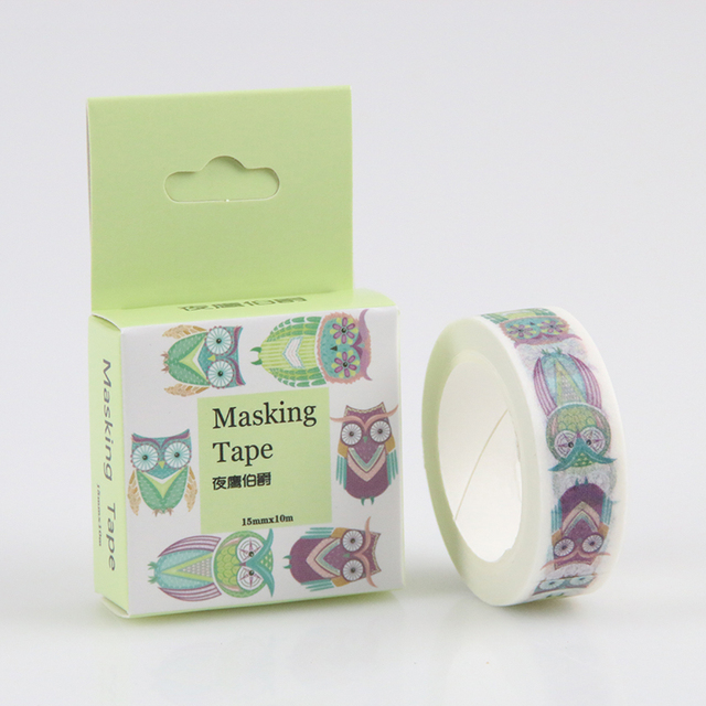 15 mm * 10m Diy Earl Nightingale Washi Tapes / Masking Tape / Decorative Adhesive Tapes / School Supplies