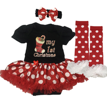 3pcs Birthday And Party Suit+Headband+Shoes For Baby Girl