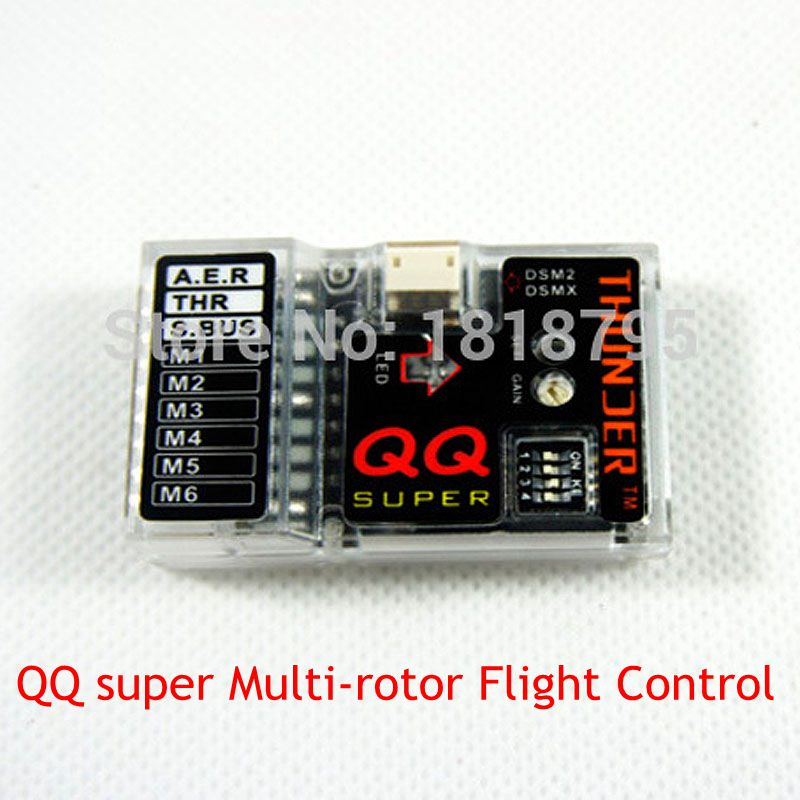 (CFQ) Quadcopter drone kit QQ super Multi-rotor quadcopter Flight Control system Gyroscope KK Upgrade for RC drone
