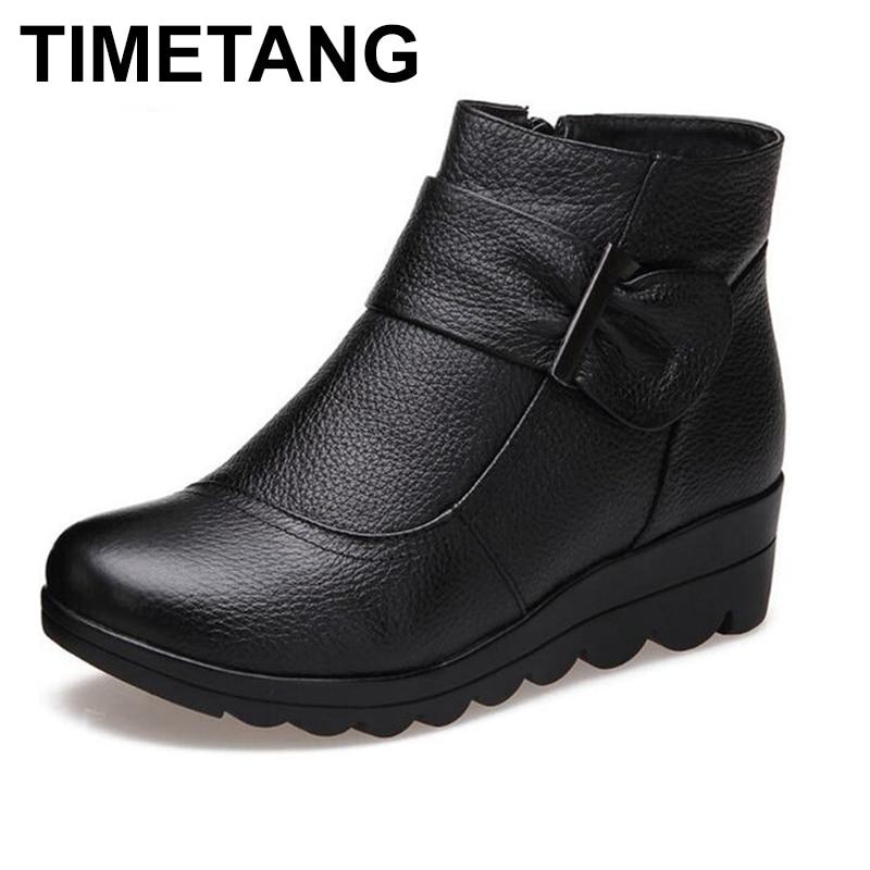 dde7102a94 Comprar HOR Aacute RIO Marca Botas Mulheres Sapatos De Inverno Ankle ...
