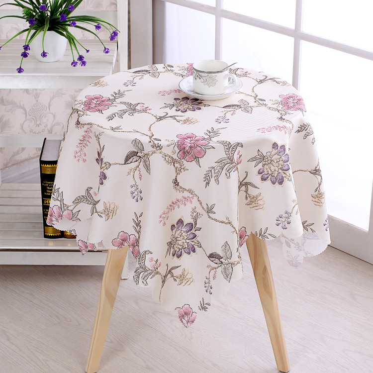 New waterproof dinning table cloth round and square table cloth free shipping