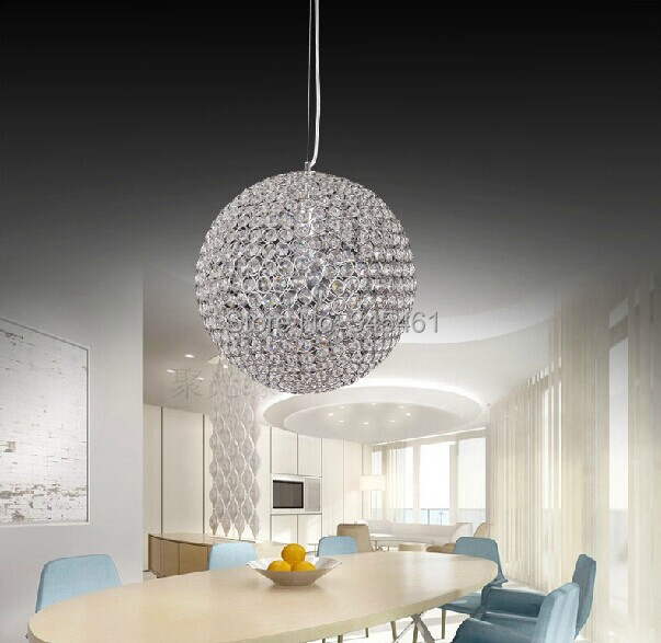 Modern Lighting- Crystal Pendant Lights Minimalist living room/bedroom/dining room/hallway lighting K9 crystal ball Pendant Lamp crystal flower pendant light modern lighting living room lamp bedroom lamp aisle lighting