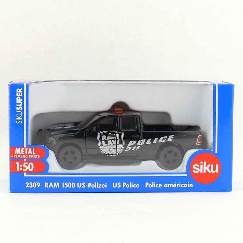 SIKU 2309/1: 50 skala/Diecast Metall Modell/Dodge RAM 1500 UNS polizei Lkw/Spielzeug Auto für kinder geschenk /pädagogisches Sammlung