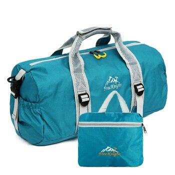 Kobiety mężczyźni składane duże torby podróżne na bagaż męska torebka torba-worek 2017 nowa konstrukcja wysokiej jakości