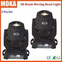 2 Pcs Lot 132W Sharpy Beam 2r Moving Head Light DMX 14CH Yodn 2R Lamp 2R