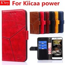 Case For leagoo Kiicaa Power 5.0 inch Luxury Business Wallet Flip Case For Leagoo Kiicaa Power Phone Bag Cover With Kickstand