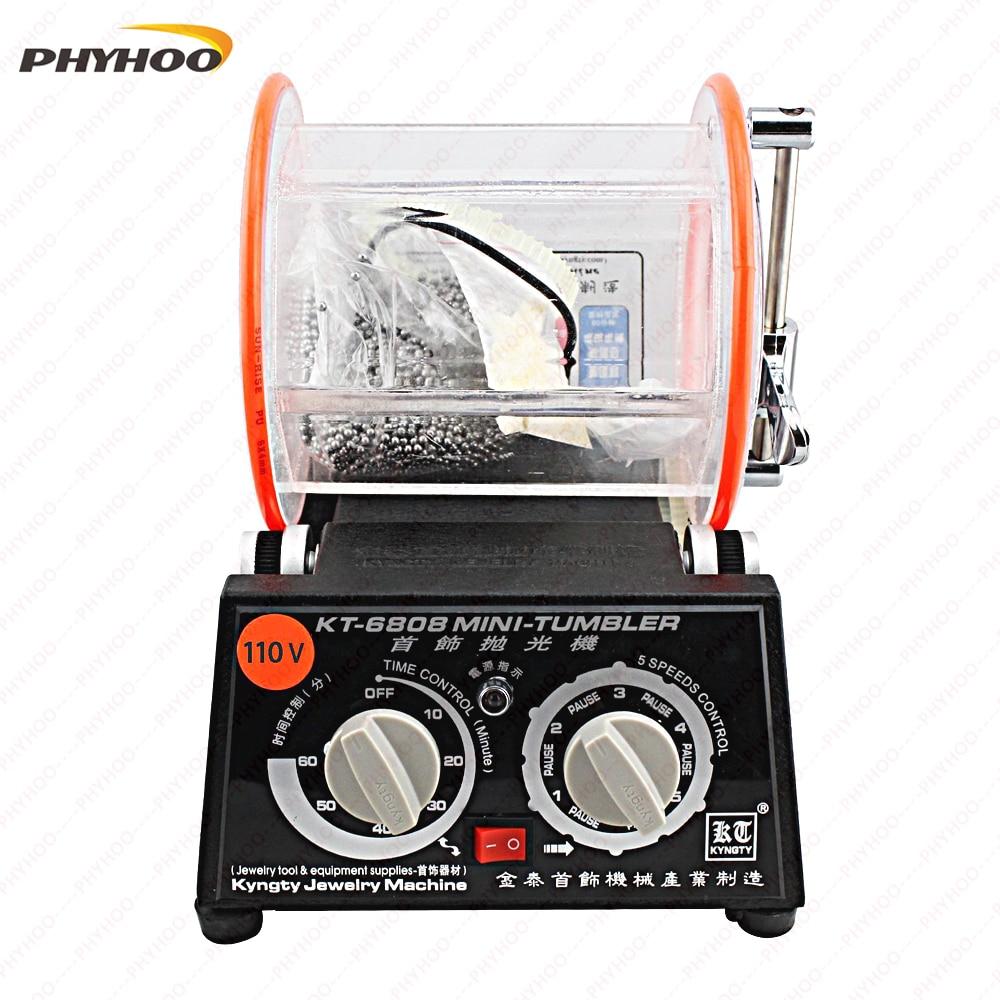Jewelry Machine Rotary Polisher, Rotating Polishing Machine, Jewelry Polishing Machine, Drum Polishing Machine 220/110V