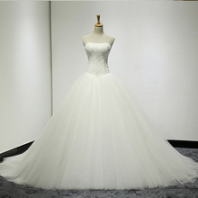 HIRE LNYER Vestidos De Ball Gown Wedding Dresses With