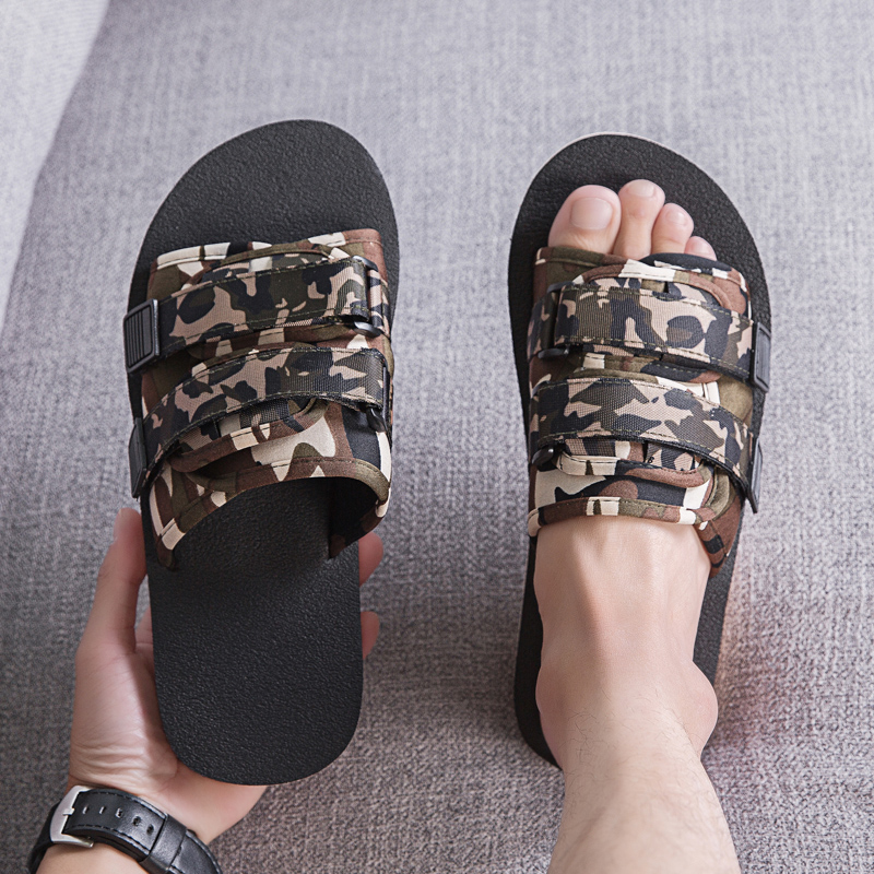 Summer Men And Women Slippers Casual Shoes Outdoor Sandals Non-slip Slides Soft Large Size Beach Shoes Flip Flops Man Shoes