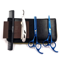 SMITH CHU 5.5 inches Professional barber scissors hairdressing scissors, hair cutting tool combination package HM87