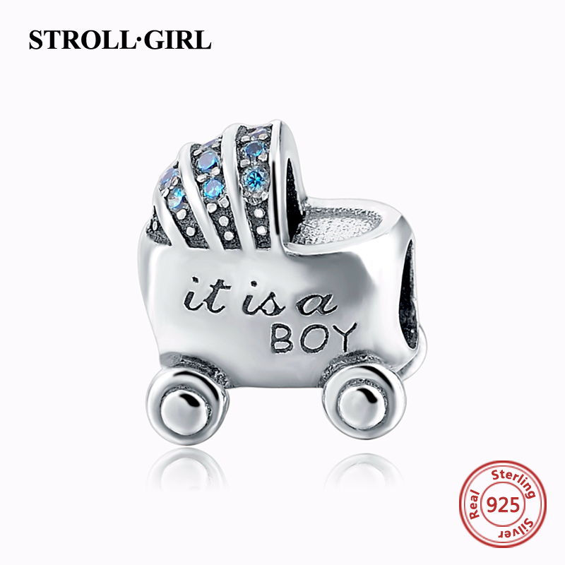 2018 New 100% 925 Sterling Silver Charm Beads Sons Love Car Beads Fit Original pandora charms for bracelet making Jewelry gifts