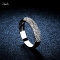Anilos 925 Sterling Silver Ring Wedding Elegant Jewelry Rings Punk Bague Women Full With Crystal Bijoux Accessories Anel R37