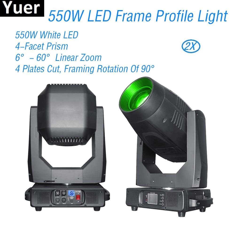 550 W LED Frame Profiel Moving Head Licht Vorst Focus Iris Effect Groot Podium Apparatuur DJ Disco Party Club Moving hoofd Verlichting