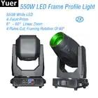 550 W LED Frame Profiel Moving Head Licht Vorst Focus Iris Effect Groot Podium Apparatuur DJ Disco Party Club Moving hoofd Verlichting - 1