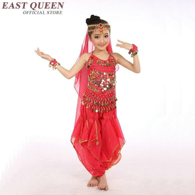 7304861b7 Belly dance costumes for girls belly dance costume set for kids children  bollywood dance costumes girls