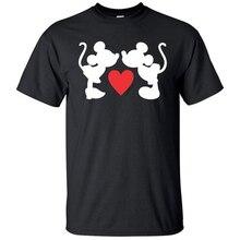 Harajuku Unisex Tshirt Mickey Plus Size Women Men T Shirt Graphic Tees Shirts Funny Kawaii Anime XS-3XL