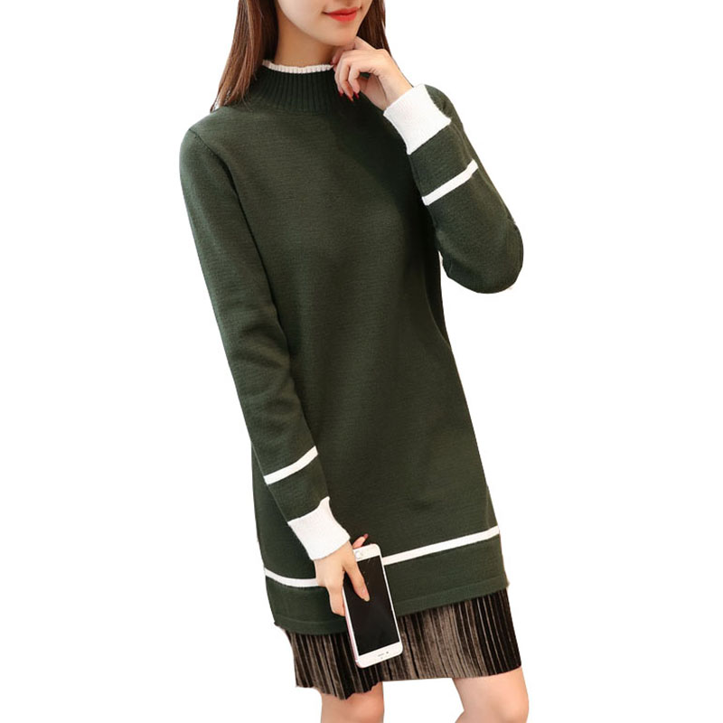 Women knited dress Slim long sweater 2017 winter female Sexy With Package Hip Sweater Tail Lotus Leaf Dresses Black sweater AS86