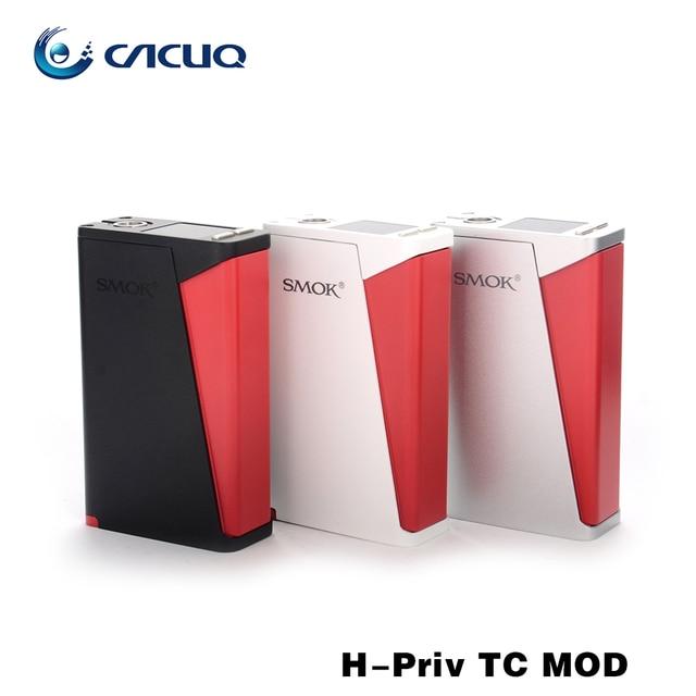 Original Smok H-Priv TC Mod 200w huge vape e cigarette box mod OLED Screen display Ergonomic design ecig
