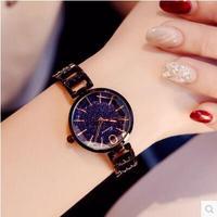 Kimio Luxury Women's Bracelet Watches Hollow Ladies Multi faceted Dial Babysbreath Dress Women Watches Female Clock reloj mujer