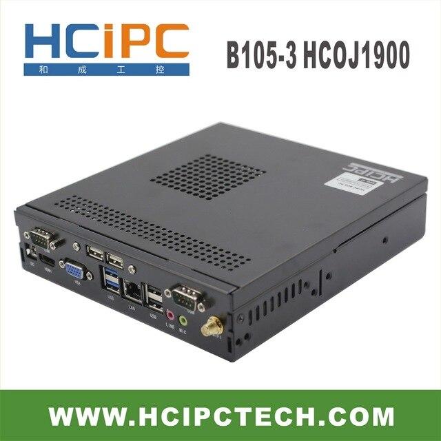 HCiPC B105-3 HCOJ1900,J1900 Mini BOX PC, J1900 Mini Barebone,J1900 mini computer,J1900 Mini ITX motherboard,Free Shipping